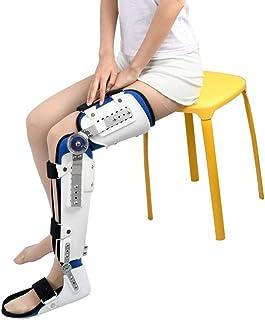 LLDY Inmovilizador de férula para Rodilla Ortesis de Rodilla Regulable con bisagras Fijación de fracturas y dislocaciones o Lesiones de ligamentos en Muslos