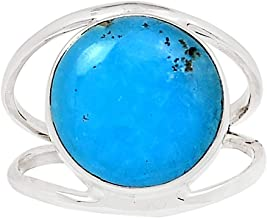 Xtremegems Smithsonite 925 Sterling Silver Ring Jewelry Size 10.5 27149R