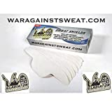 Gladiator Sweat Shields Hat Liner (20pack) Sweat Pad for Hats, Baseball Caps, Helmets, All Headwear and Fitness