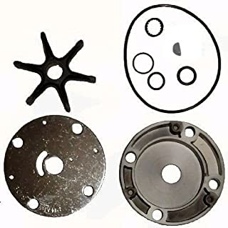 Tungsten Marine Water Pump Kit with Housing for OMC Sterndrive Stringer Mounts Replaces 983218