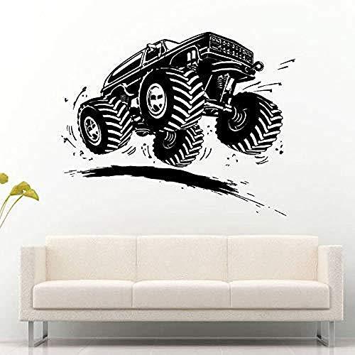 ShiyueNB Super SUV Jeep Mountain Allrad Mountainbike kinderkamer slaapkamer woonkamer muursticker 42x54