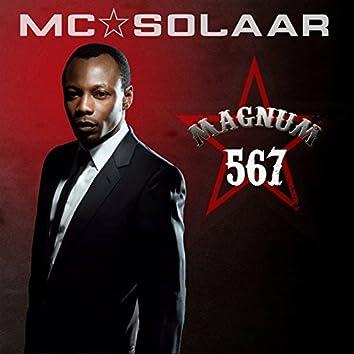 Magnum 567 (Pack contenant 3 albums de MC Solaar : Cinquième As, Mach 6 et Chapitre 7)
