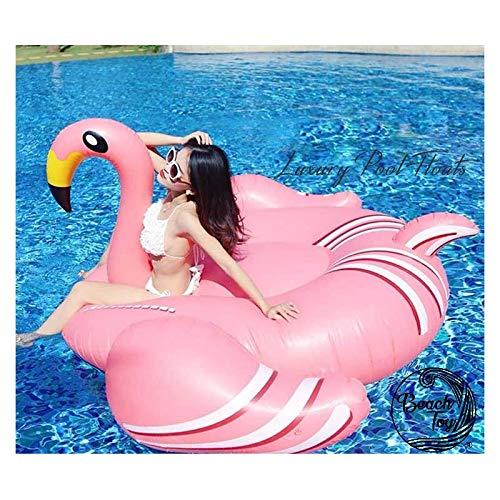 beachtoy Materasso Gonfiabile Salvagente gigante Flamingo consegna Ultra Rapido 190x 190x 130cm Taglia XXL