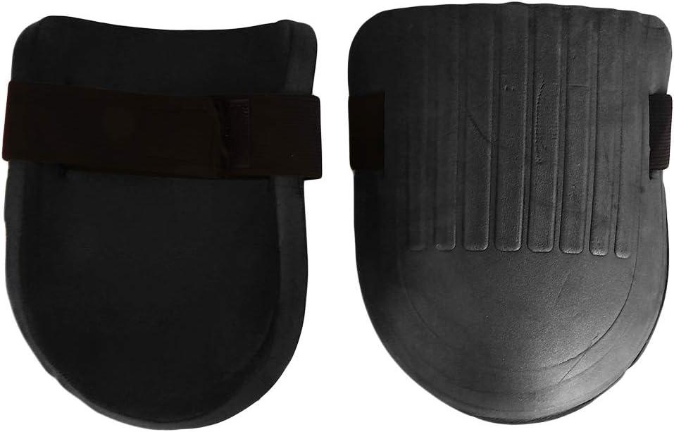 Ginocchiere da giardino con cinghie regolabili EVA Coppia nera. morbide e resistenti Refer to description Hengxing in schiuma EVA
