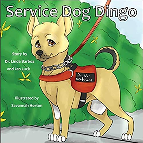 Service Dog Dingo  By  cover art