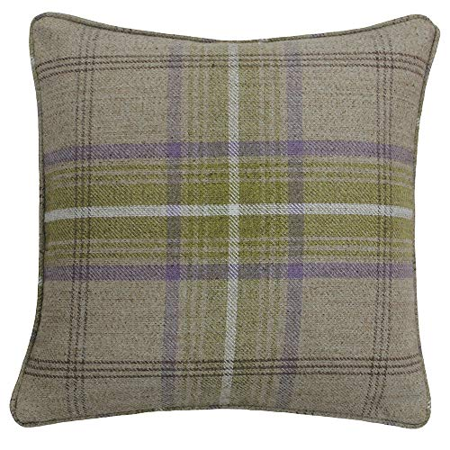 Riva Paoletti Aviemore Cushion Covers, Brown, 45 x 45 cm, Polyester, Thistle