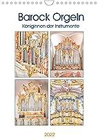 Barock Orgeln, Koeniginnen der Instrumente (Wandkalender 2022 DIN A4 hoch): In der Zeit des Barock erlebte die Orgelmusik ihren Hoehepunkt (Monatskalender, 14 Seiten )