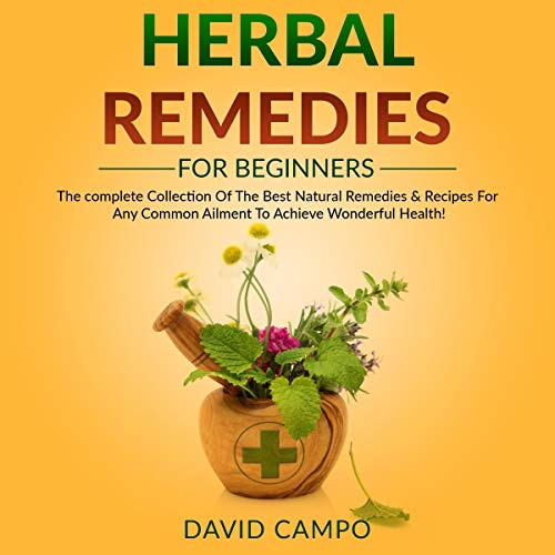 Herbal Remedies for Beginners Audiobook By David Campo cover art