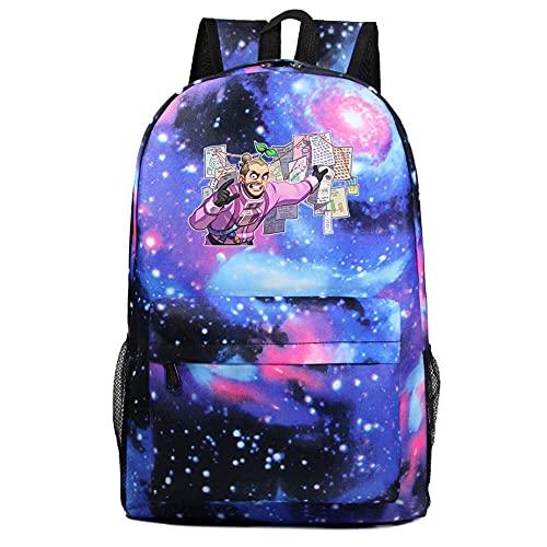 Among us Galaxy Bolsa de Niños Niño Chica Estudiante Adolescente Juego Regalo Ventilador Casual Viajes Hombro Mochila 15 Colores-Color 7
