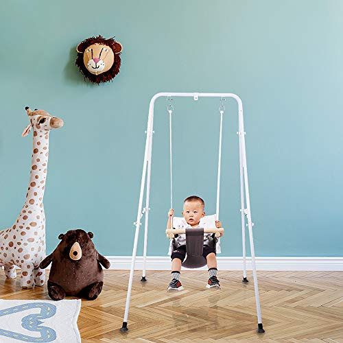 51S8BO4YA6L Best Soothing Baby Swing for Baby That Likes to Be Held 2021