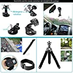 Neewer 50-In-1 Action Camera Accessory Kit, Compatible with GoPro Hero9/Hero8/Hero7, GoPro Max, GoPro Fusion, Insta360… 13 Ultimate Compatibility: Compatible with most action cameras, including GoPro Hero9 Black, Hero8 Black, GoPro Max, GoPro Fusion, and its earlier models. Also suitable for DJI Osmo Action, Insta360, AKASO, APEMAN, Campark, SJCAM, etc Straps for Head, Chest & Helmet: Designed for all head sizes and body shapes, the straps secure the camera on your head and chest for taking breathtaking POV shots of surfing, skateboarding, parachuting, and bungy jumping. The helmet strap tightly fastens your camera on a helmet for road biking races, mountain bike trails, and BMX Wrist Strap & Floating Handle Grip: The wrist strap with a 360° rotatable mount is easily adaptable to fit your wrist and arm for taking shots from different angles. The floating handle grip keeps your camera afloat in the water when swimming or snorkeling