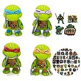 Ninja turtles toys The Action Figure of Teenage Mutant...