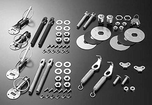 Cusco Body Pins For Hood Aluminum-Black Universal By Jm Auto Racing (00B 817 Ab)