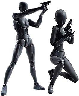 Body Kun DX Set Male Female Black Color Body Chan Action...