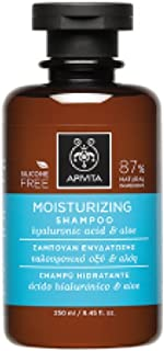 アピヴィータ Moisturizing Shampoo with Hyaluronic Acid & Aloe (For All Hair Types) 250ml [並行輸入品]