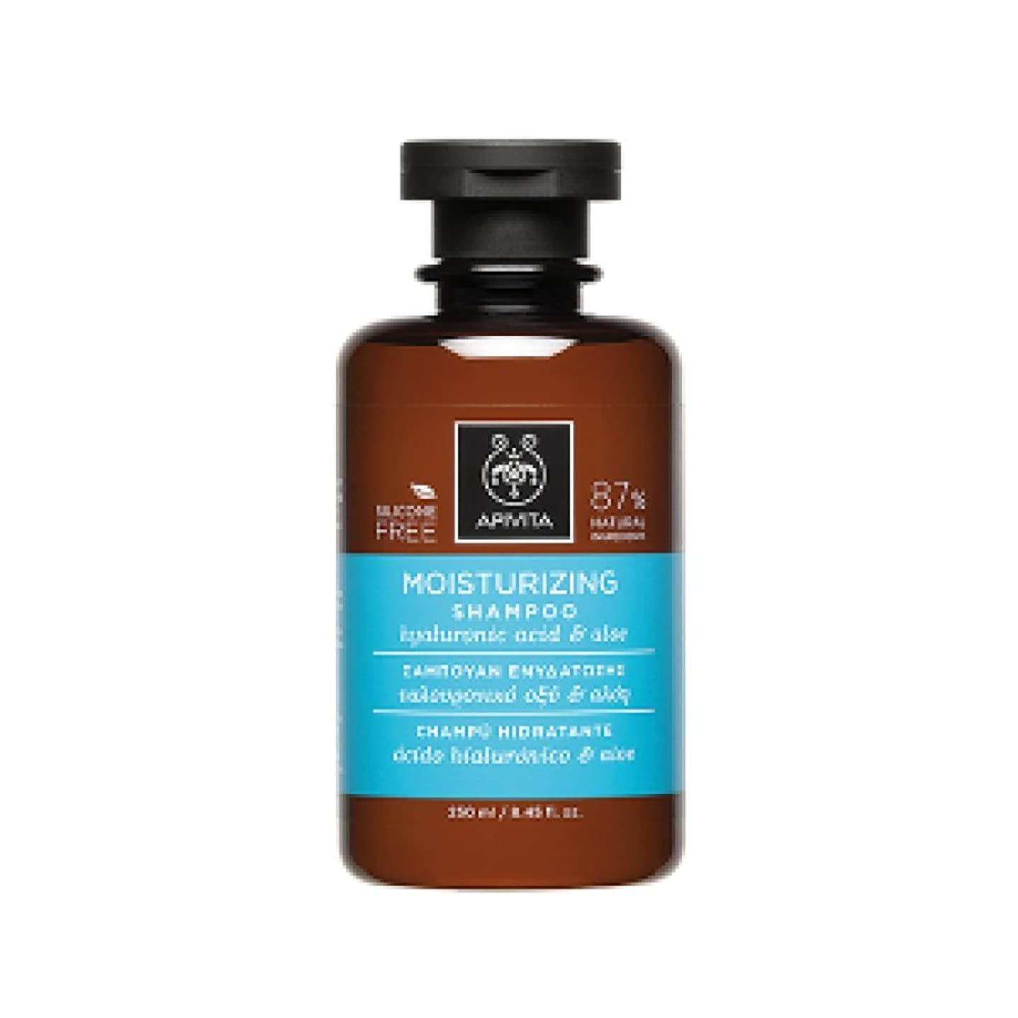 無礼に考える絵アピヴィータ Moisturizing Shampoo with Hyaluronic Acid & Aloe (For All Hair Types) 250ml [並行輸入品]