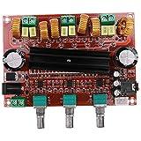Gesh Tpa3116D2 2.1 Amplificador de Audio Digital Tablero 80Wx2+100W Subwoofer 2.1 Amplificador de Audio Amplificador para Altavoz de 4-8 Ohm D3-005 para Lusya