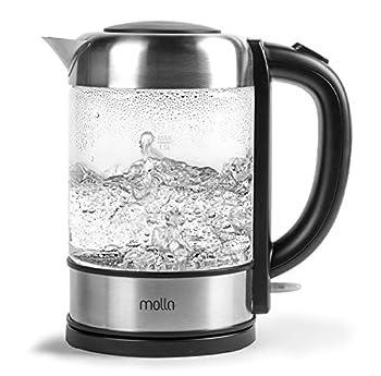 Molla Púro Electric Water Kettle Ultra Premium SCHOTT Glass