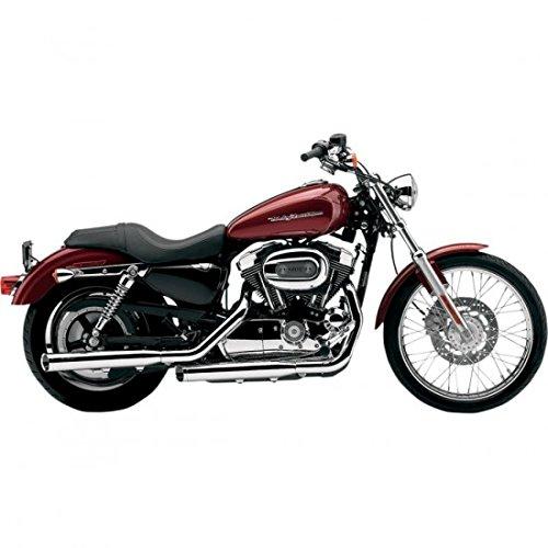 """Auspuff Endrohr 3"""" chrom COBRA Harley Davidson Sportster XL 04-13"""