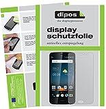 dipos I 6X Schutzfolie matt kompatibel mit ZTE Blade V8 Pro Folie Bildschirmschutzfolie