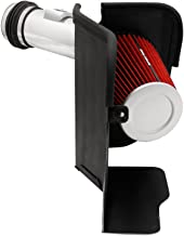 Spectre Performance Air Intake Kit with Washable Air Filter: 2003-2007 Ford Super Duty (F250/F350/F450/F550 SuperDuty, F250 Cutaway, F250 Harley Davidson) 6.0L V8 Diesel, Red Filter , SPE-9973