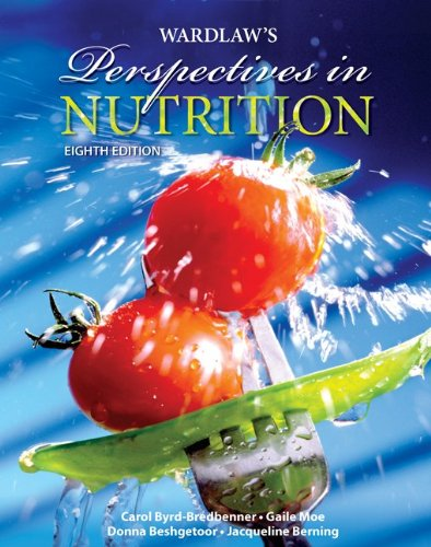Combo: Wardlaw's Perspectives in Nutrition with NCP 3.4 CD