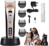 <span class='highlight'>JHFUN</span> <span class='highlight'>Pet</span> <span class='highlight'>Grooming</span> <span class='highlight'>Clippers</span>, <span class='highlight'>Professional</span> <span class='highlight'>Dog</span> <span class='highlight'>Clippers</span> Cat <span class='highlight'>Grooming</span> <span class='highlight'>Clippers</span> for Thick Hair <span class='highlight'>Dog</span>s, Cats and Horses (UK Plug)