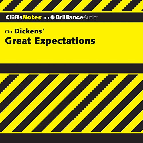 Great Expectations: CliffsNotes audiobook cover art