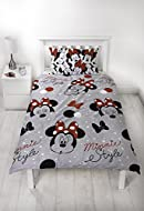 Minnie Mouse fans will love this classic style. This Minnie style duvet set is perfect for Minnie Mouse fans of all ages. The pretty and colourful reversible bedding set will add Minnie attitude to any Disney fans bedroom. Officially licensed design ...
