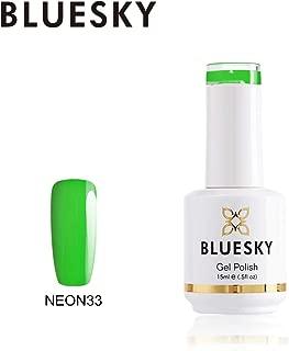 Bluesky Gel Nail Polish (neon33), 15 milliliters
