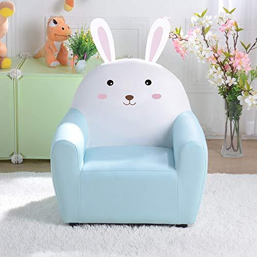 GZQDX Sofá para niños Lindo sofá Asiento bebé sofá Silla Dibujos Animados niña Princesa Solo Perezoso Mini sofá de Cuero (Color : B)
