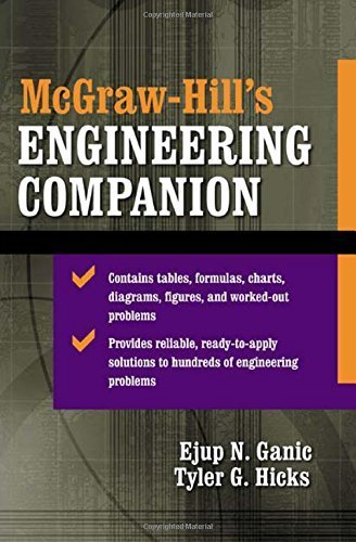 McGraw-Hill's Engineering Companion by Ejup Ganic (2002-09-23)
