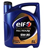 Car lubrifiant Elf Evolution Full-Tech FE 5W30 5 litres...
