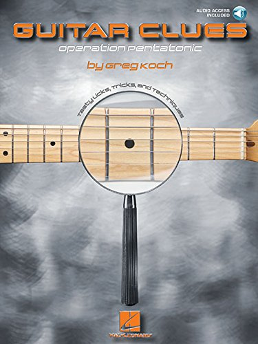 Guitar Clues - Operation Pentatonic: Noten, CD, Lehrmaterial für Gitarre