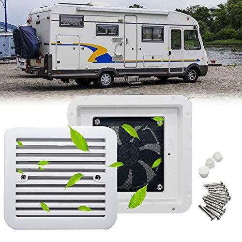 Maso - Ventilador de autocaravana para refrigeración, 12 V, intensidad fuerte