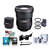 Tokina 14-20mm f/2.0 at-X Pro DX Lens for Nikon - Bundle with 82mm Filter Kit, Lens Case, Cleaning Kit, Flex Lens Shade, Lencap Leash, Software Package
