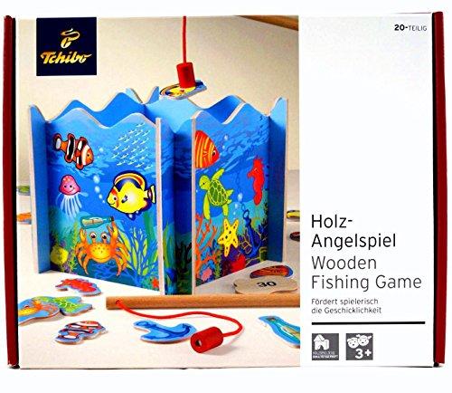 TCM Tchibo Holz Angelspiel Spiel