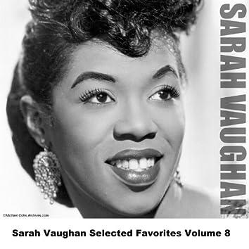 Sarah Vaughan Selected Favorites Volume 8