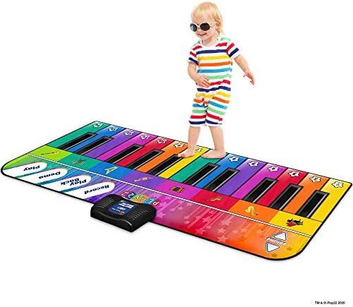 Play22 Colorful Keyboard Playmat 71 24 Keys Piano Play Mat Piano Mat has Record Playback Demo product image