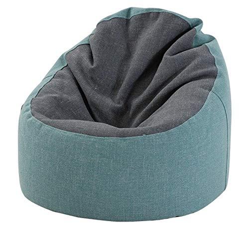 Mishuai Lazy Couch Sitzsack Baumwolle Leinen Schlafzimmer Einzelsofa Nordic modern minimalistisch lässig Lesesessel