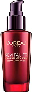 L'Oreal Paris Skincare Revitalift Triple Power Concentrated Face Serum Treatment with Hyaluronic Acid and Pro-Xylane Anti-Aging Facial Serum to Repair Wrinkles