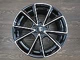 4 llantas de aluminio MAM A5 de 18 pulgadas aptas para Alhambra 7M Altea Toledo 5P Leon Cupra 1P 5F