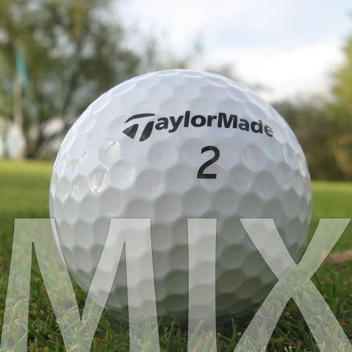 Easy Lakeballs 100 Taylor Made Mix Pelotas DE Golf RECUPERADAS/Lake Balls - Calidad AAA/AA (A/B Grade) - EN Bolsa DE Red