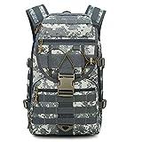 登山 リュック 40L 大容量 選べる6色 迷彩 防水 軽量 軍事ファン向け 戦術 アルパインパック アウトドア リュックサック (Color : ACUデジタル)