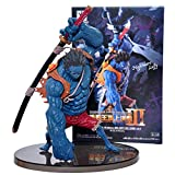 QAL ONE Piece Anime Figure Nightmare Luffy Model Toy Decoration PVC Figurine Statue Collectible