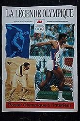 La légende Olympique - RARE - de 1896 à 1988 - Publié par 3M Europe - 24 pages - 1988