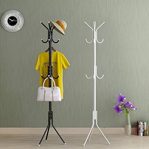 Soporte de exhibición de ropa Muebles para el hogar Ganchos múltiples Perchero colgante Perchero de metal