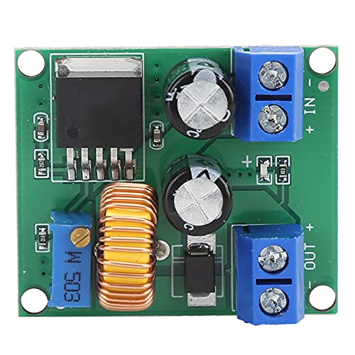 Módulo convertidor de CC a CC, regulador, tablero convertidor de refuerzo de voltaje, tablero de refuerzo ajustable, 3 V, 5 V, 12 V a 19 V, 24 V, 30 V, 36 V, tablero de refuerzo, transformador elevado