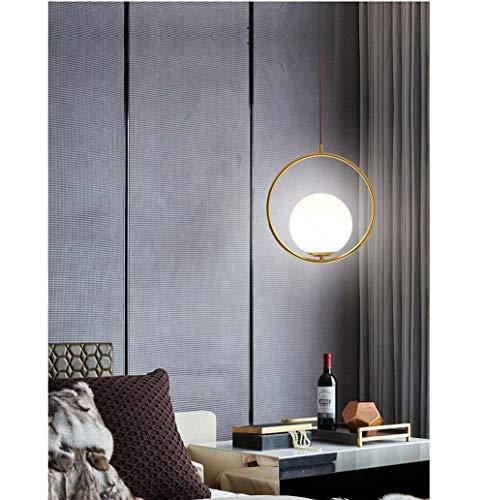 Sebasty Lámparas de araña estilo moderno restaurante simple sala de estar dormitorio tienda de ropa bola de cristal decoración araña de oro