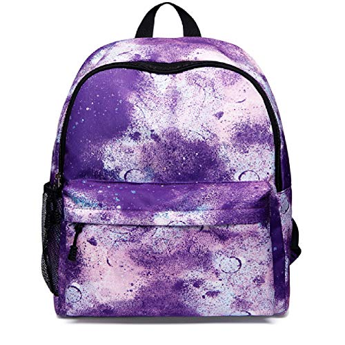 Starry Backpack,Laptop Backpack Multifunctional Backpack USB Charging Suitable for Leisure Travel andMountain Sports (purple)